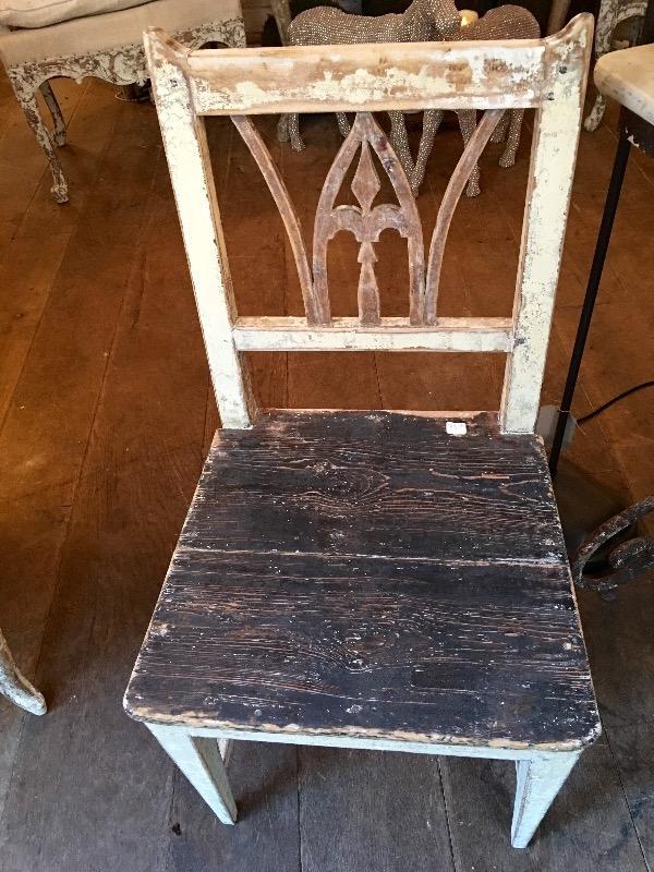 paire de petites chaises sudoises de campagne nouveautes au temps des cerises - Chaises Suedoises